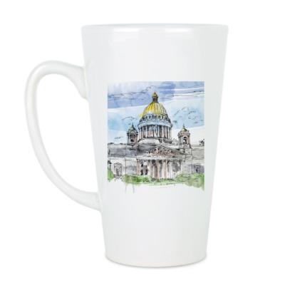 Чашка Латте Кружка Исаакиевский собор