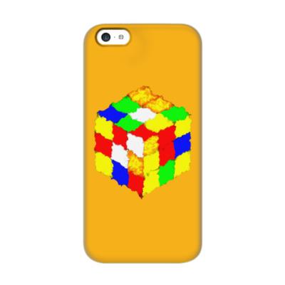 Чехол для iPhone 5c Кубик Рубика