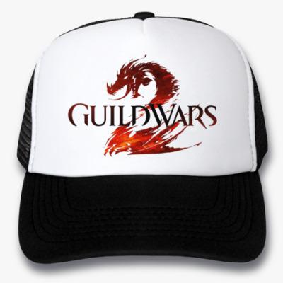 Кепка-тракер Кепка Guild Wars 2 (черная)