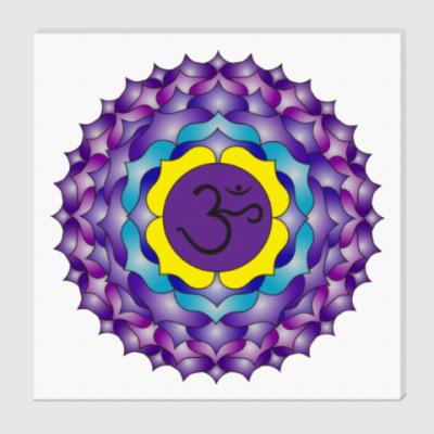 Холст Янтра Сахасрара-чакры