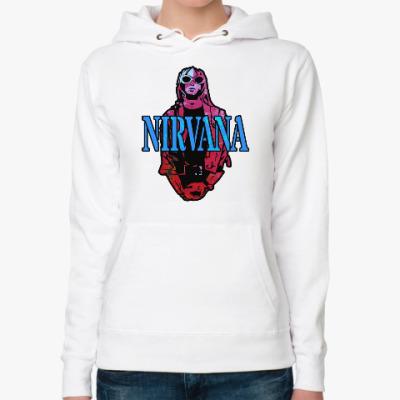Женская толстовка худи Nirvana