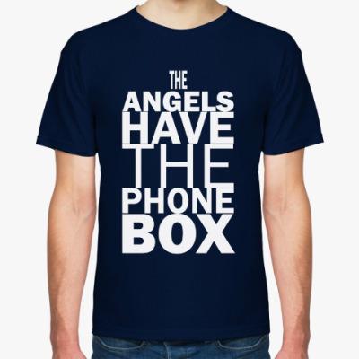 Футболка The Angels have the phone box