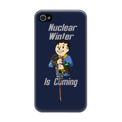 Чехол для iPhone 4/4s Ядерная Зима Близко