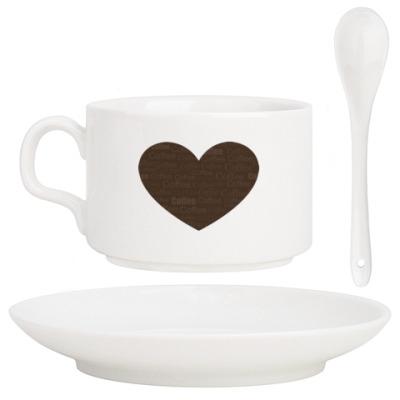 Кофейный набор Пристрастие к кофе