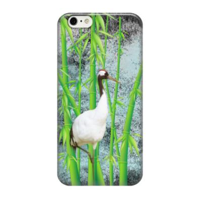 Чехол для iPhone 6/6s Бамбук и журавль