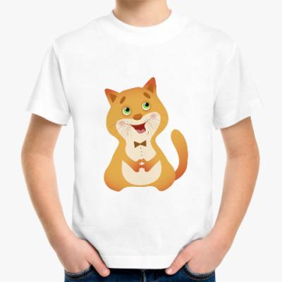 Детская футболка Кот-певец