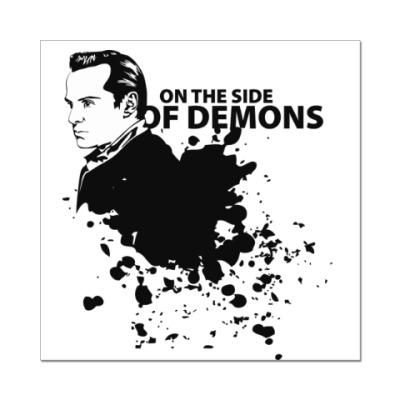 Наклейка (стикер) На стороне демонов