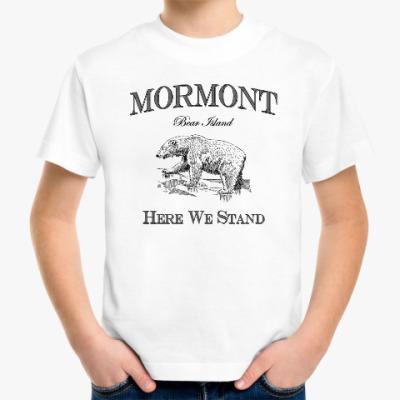 Детская футболка Mormont