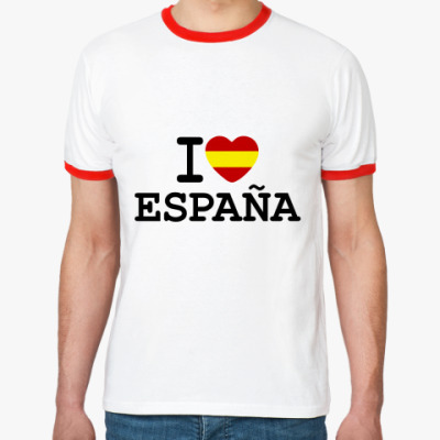 Футболка Ringer-T I Love España