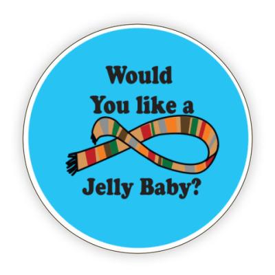 Костер (подставка под кружку) 4 Doctor Jelly Baby