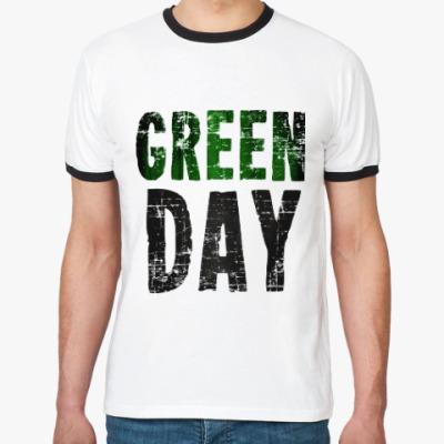 Футболка Ringer-T Green Day