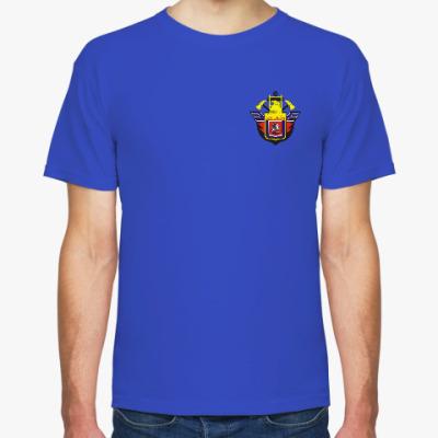 Футболка пожарная охрана Москвы