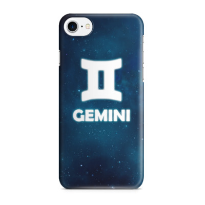 Чехол для iPhone 7/8 Знак зодиака. Близнецы