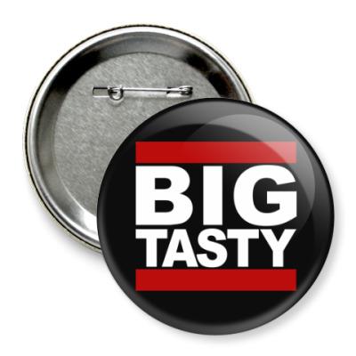 Значок 75мм Big Tasty