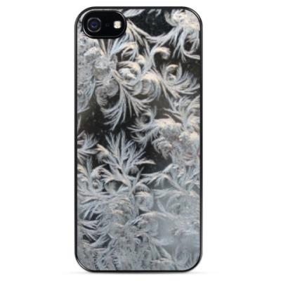 Чехол для iPhone морозный узор