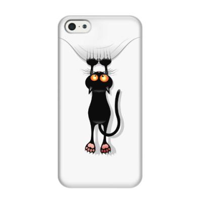 Чехол для iPhone 5/5s Черная кошка