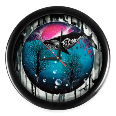 Настенные часы Космос, подводный мир, звезды,созвездия, планеты