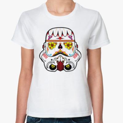 Классическая футболка Flower Stormtrooper