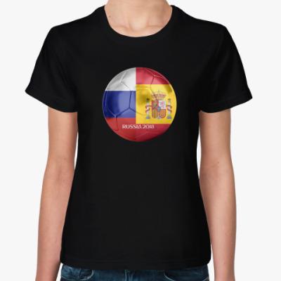 Женская футболка Матч дня-ЧМ2018