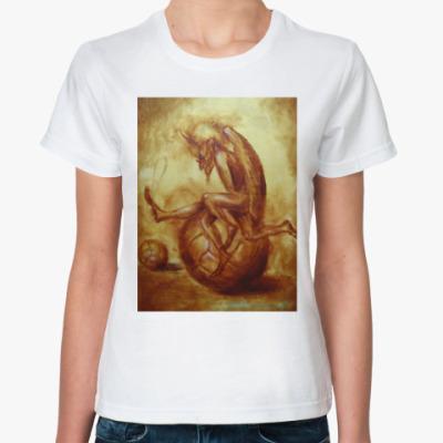 Классическая футболка Футбольный бог