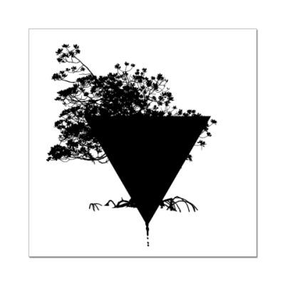 """Наклейка (стикер) """"Triangle"""""""