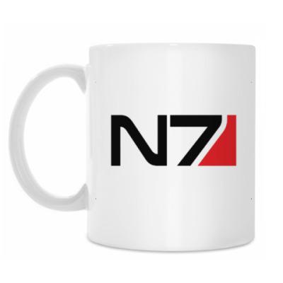 Кружка N7 Mass Effect