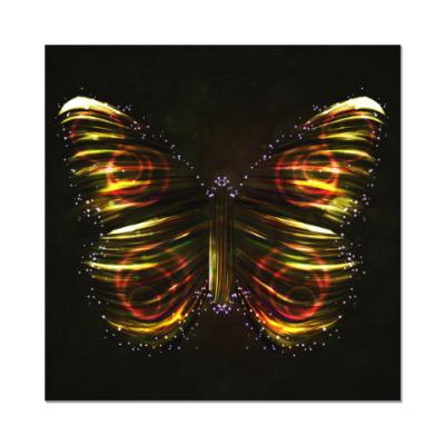 Наклейка (стикер) Звёздная бабочка