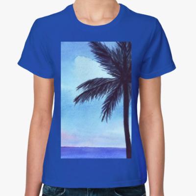 Женская футболка мечты о море