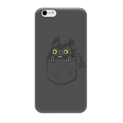 Чехол для iPhone 6/6s Ночная Фурия в кармане
