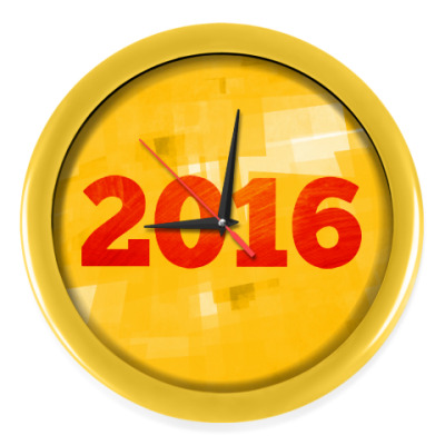 Настенные часы Год Огненной Обезьяны 2016