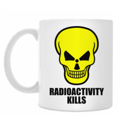 Кружка Radioactivity Skull