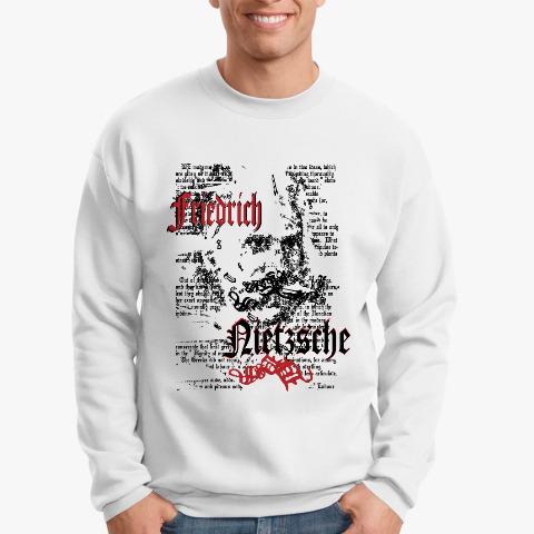 34c4269a72b97 Свитшот философ Фридрих Ницше купить на Printdirect.ru | 8045713-784