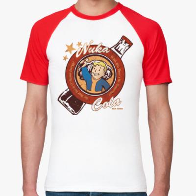 Футболка реглан Fallout Nuka Cola Vault Boy
