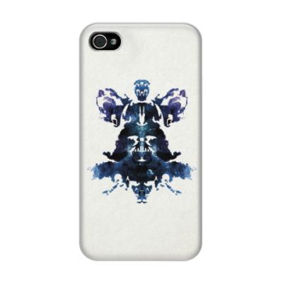Чехол для iPhone 4/4s Rorschach Darth Vader