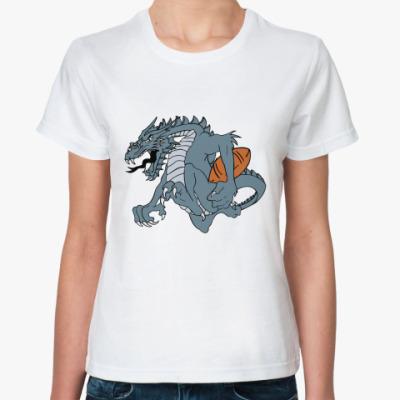 Классическая футболка Дракон регби