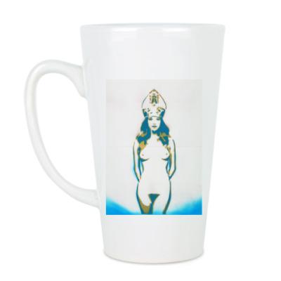 Чашка Латте Сексуальная девушка