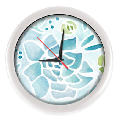 Настенные часы Ботаника