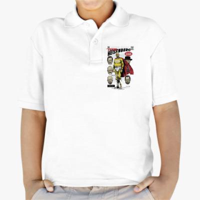 Детская рубашка поло Breaking Bad comic cover