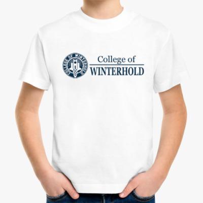 Детская футболка Skyrim . College of Winterhold