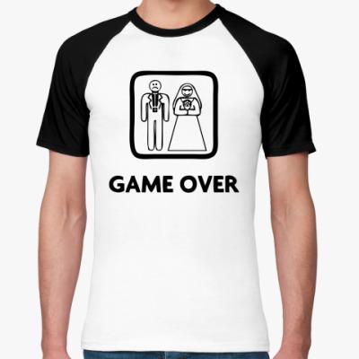 Футболка реглан Game Over