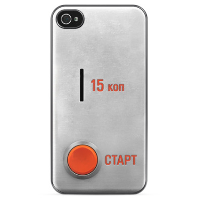 Чехол для iPhone Монетка