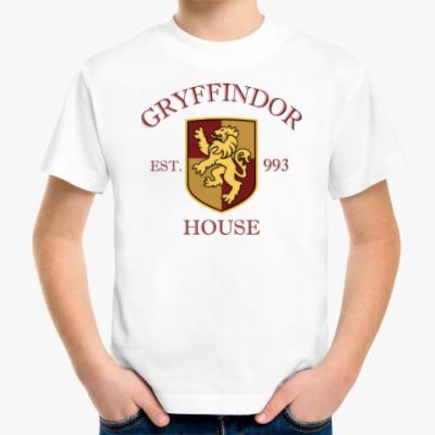 Детская футболка Gryffindor