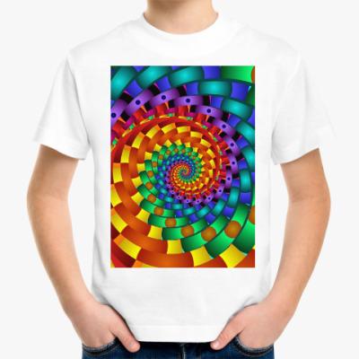 Детская футболка Радужный вихрь