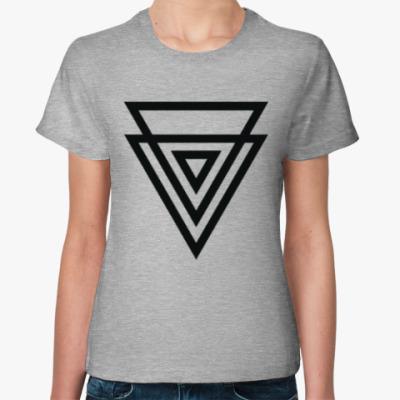 Женская футболка Double Triangle