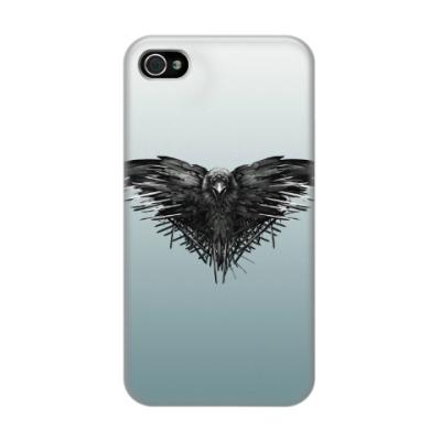 Чехол для iPhone 4/4s Игра Престолов: Ворон