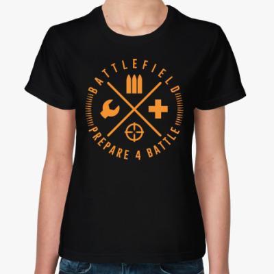 Женская футболка Prepare 4 Battle