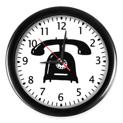 Настенные часы 'Телефон'