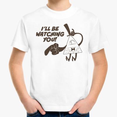 Детская футболка Билл Шифр. Гравити Фолз