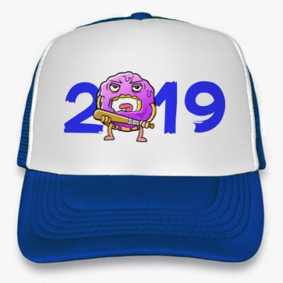 Кепка-тракер Новый Год 2019