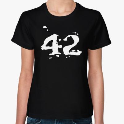 Женская футболка 42